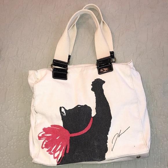 Jason Wu for Target Milu Print Cat Bag Tote Handbag Limited Edition NWT